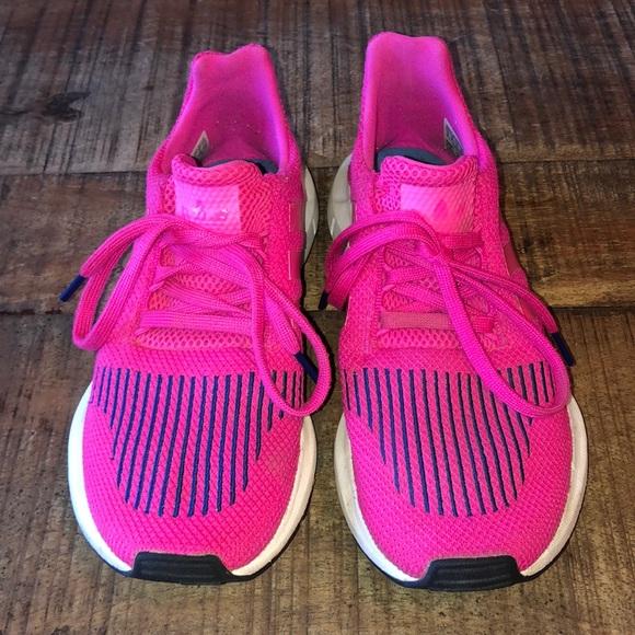 Hot Pink Adidas Tennis Shoes | Poshmark